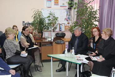 Агитпроект «Десант наставников  Ульяновской области» посетил Железнодорожный район